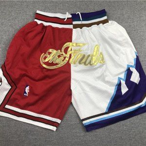 💋NWT💋Just Don Chicago Bulls Utah Jazz Shorts